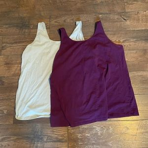 Set of 2 Maurices 2XL Tank Tops